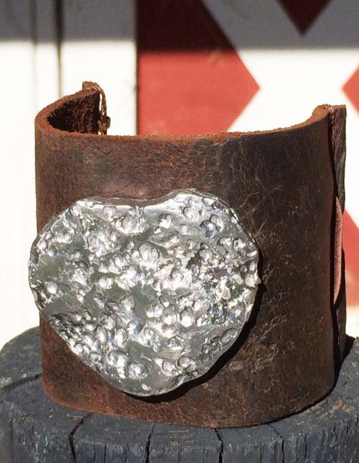 Vintage Leather Jewelry