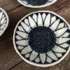 Porcelain Sunflower Bowls