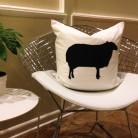 Farm Silhouette Pillows