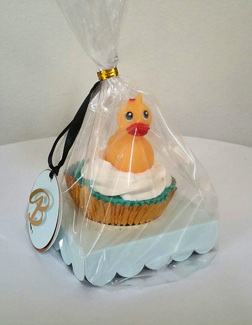 Bath Bomb Cupcake