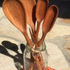 cherry wood spoons