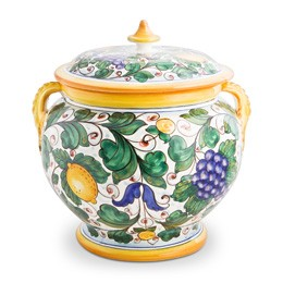 Italian Majolica from one of our favorite places, Biordi Art Imports.