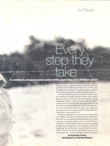 Every Step They Take-Francine Prose Family Life 1996