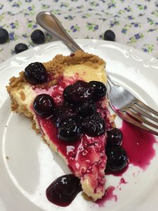 Lemon Blueberry Icebox Pie